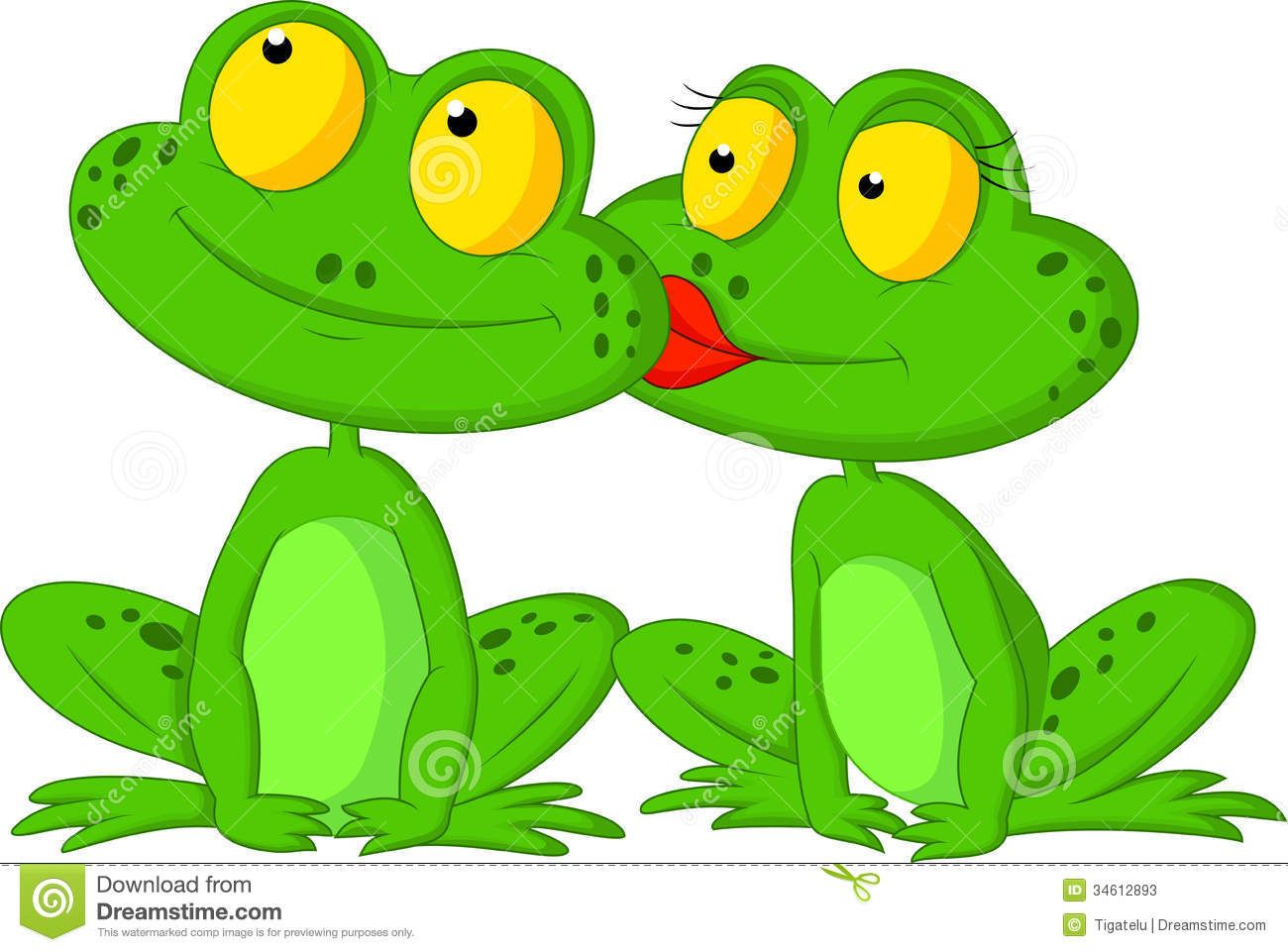 Girl frog cartoon couple x3cbx3efrog cartoonx3c bx3e stock photos images x26amp pictures 56