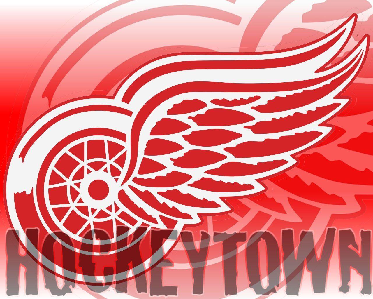 Detroit Red Wings Hockeytown Logo Detroit Red Wings Desktop
