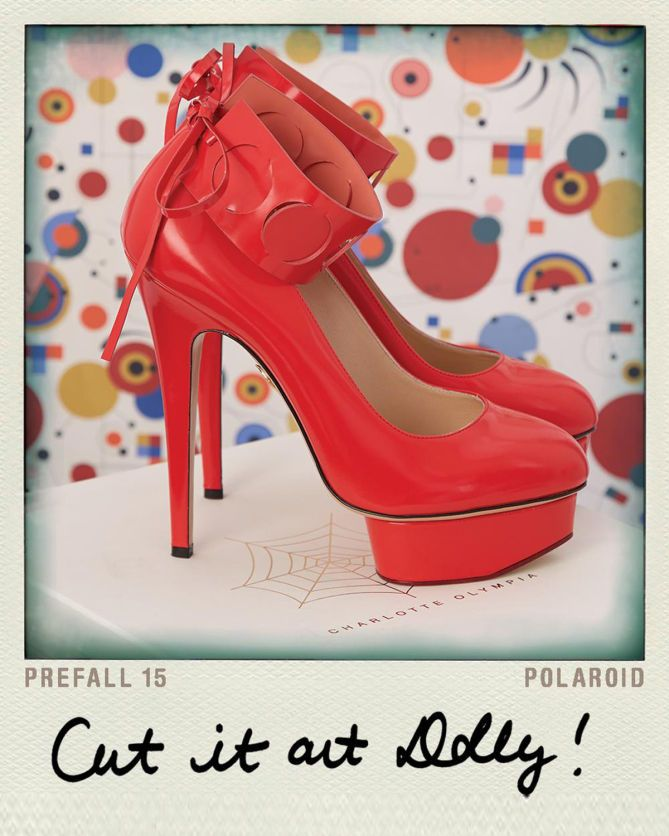 Charlotte Olympia CUT IT OUT DOLLY! | Buy ➜ http://shoespost.com/charlotte-olympia-cut-it-out-dolly/