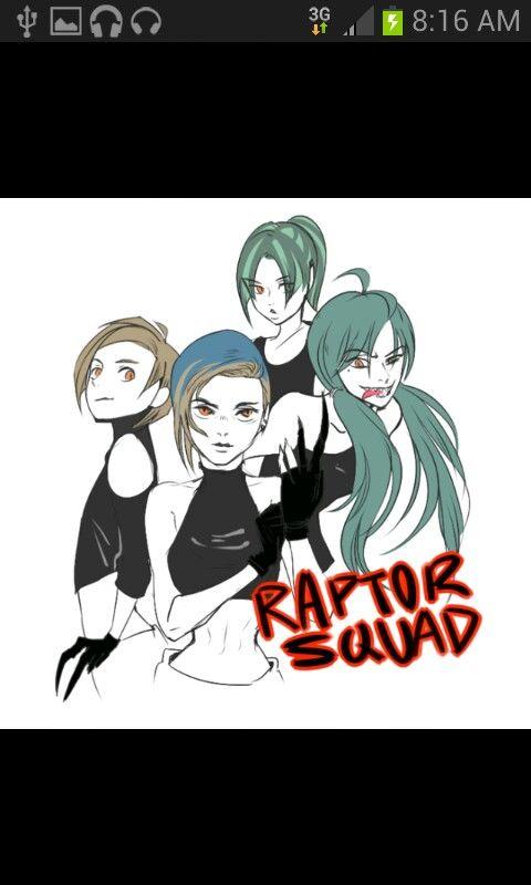 Raptor squad- Jurassic world
