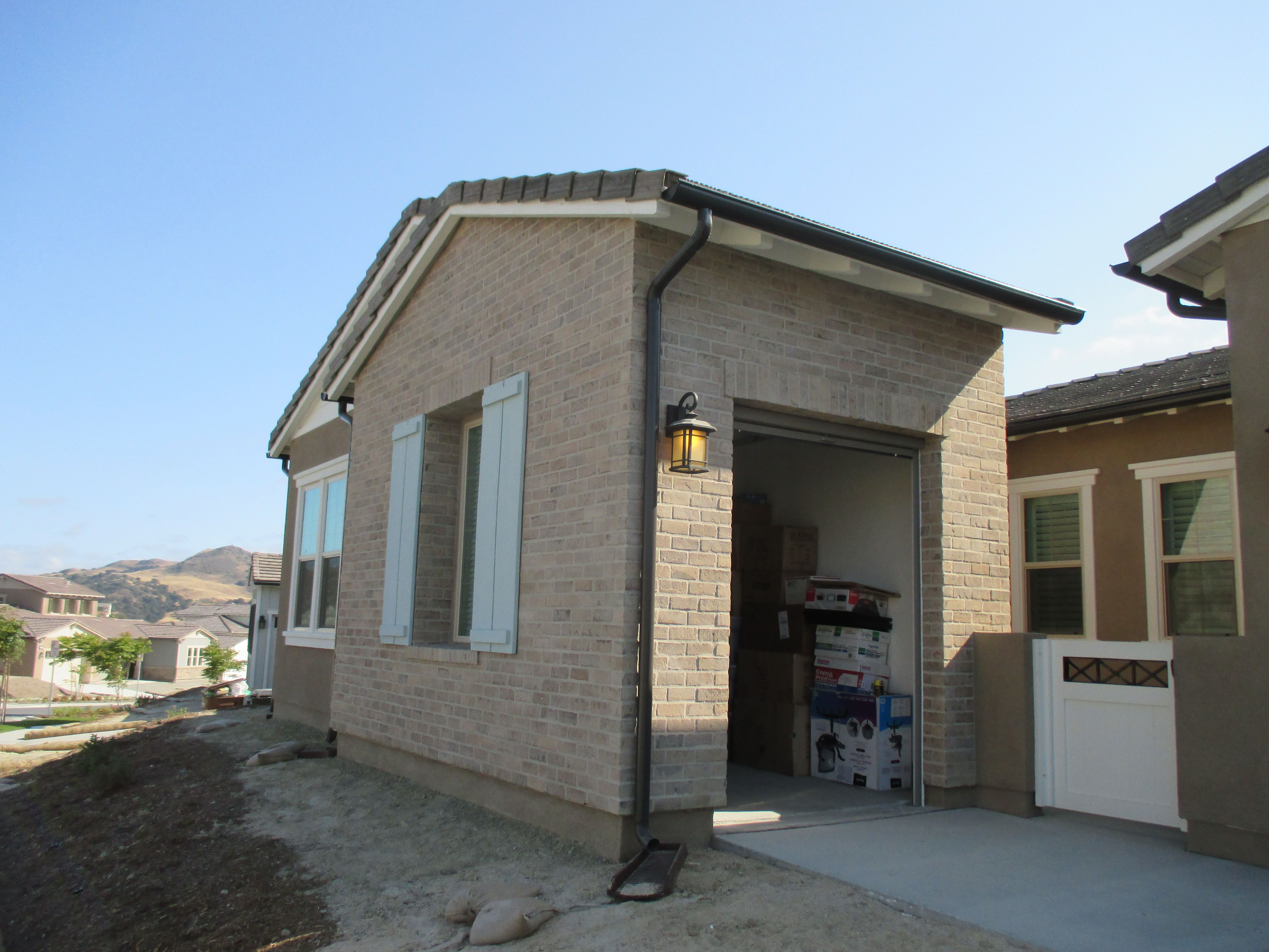 single car garage doors. Panoramalite Pull Down Retractable Screen For A Single Car Garage Door! Home In Rancho Doors