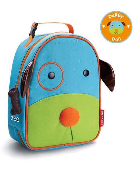 OWL Kids Insulated Lunch Bags Skip Hop ZOO LUNCHIE INSULATED LUNCH BAG