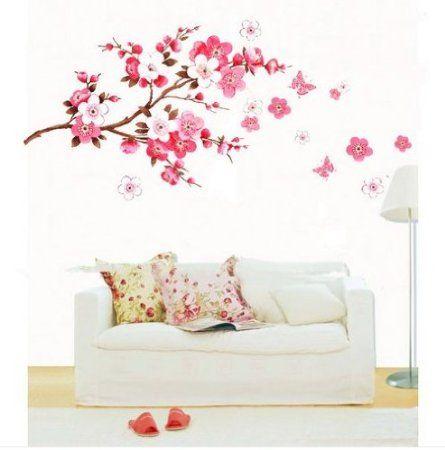 45 Beautiful Wall Decals Ideas Art And Design Baby Girl Room Decor Baby Nursery Wall Decals Wall Decor Bedroom