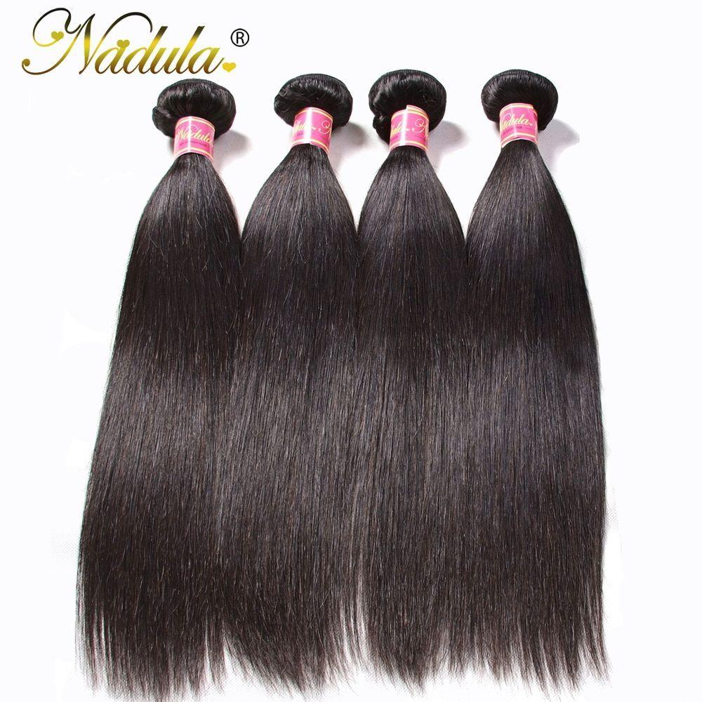 Good Photographs Nadula Hair 4pcs/Lot Peruvian Straight