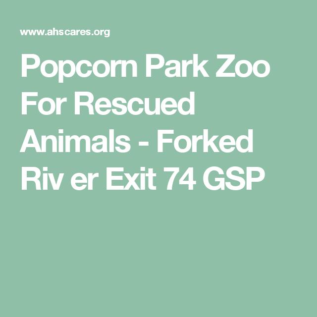 Popcorn Park Zoo For Rescued Animals - Forked Riv er Exit 74 GSP