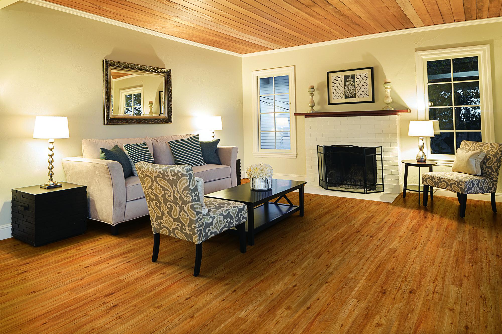 Waterproof vinyl plank flooring, Cleaning