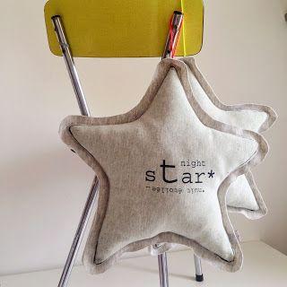 Coussin étoile.