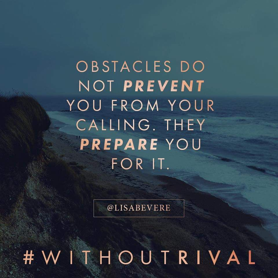 Inspirational Quotes For Overcoming Obstacles: Obstacles Prepare You Not Prevent You From Reaching Your