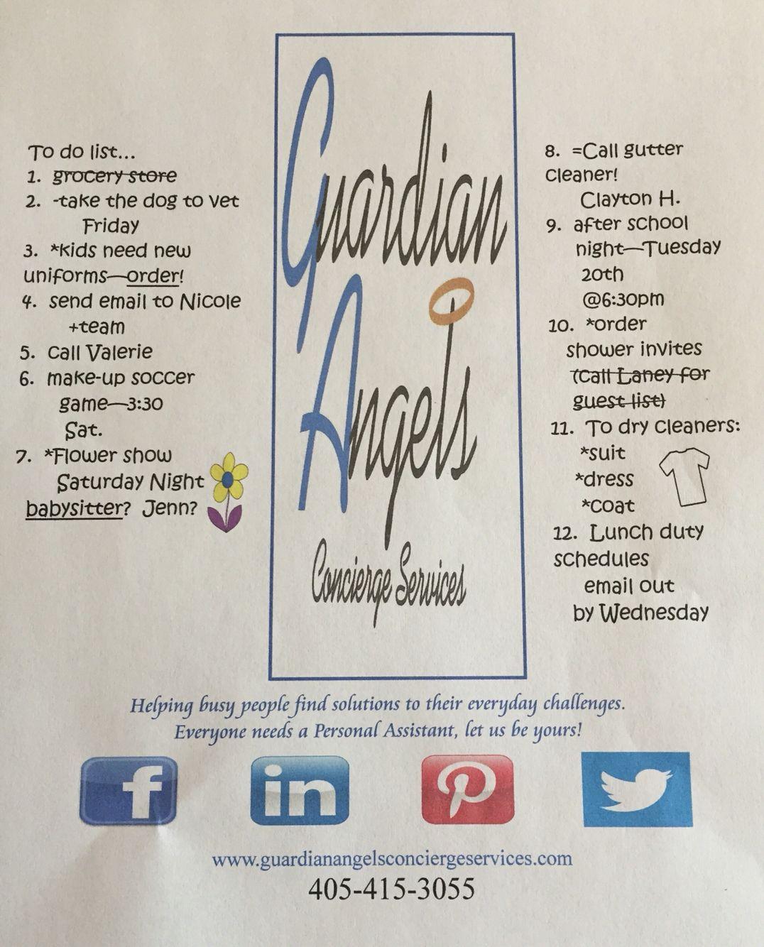 Guardian Angels Concierge Services, LLC www