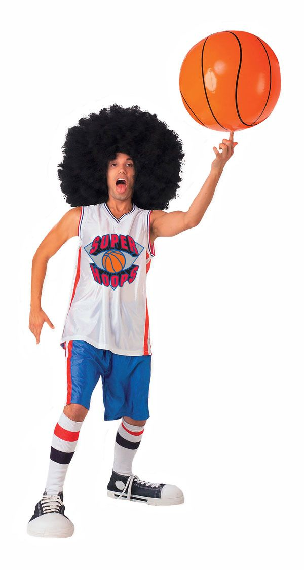Super Hoops Basketball Costume Funny Costumes Basketball Costume Mens Halloween Costumes Sports Costumes Halloween