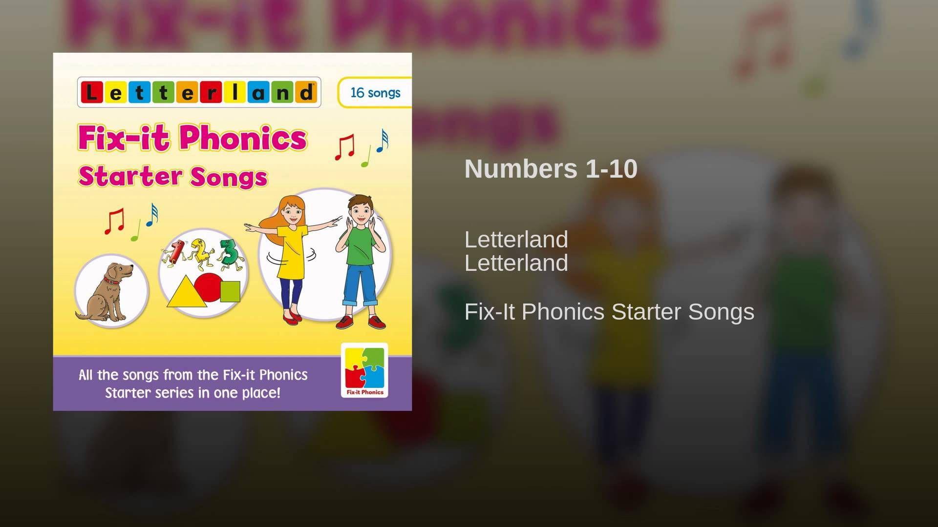 Numbers 1-10 | Numbers 1 10, Phonics, 10 things