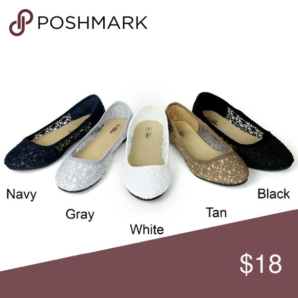 Crochet flats Before purchase let me know size n color to see if avail Shoes Flats & Loafers