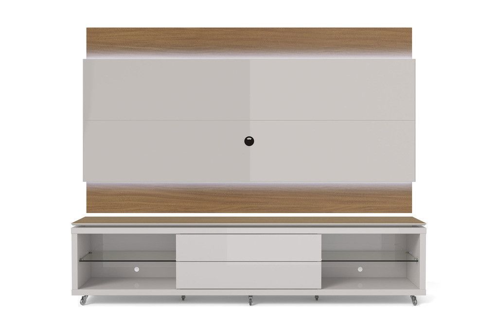 Lincoln TV Stand and Lincoln Floating Wall TV Panel 2.4