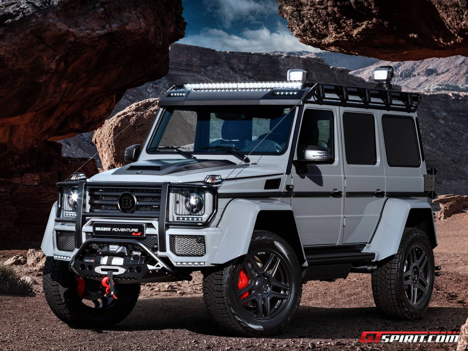 Mercedes Benz G 500 4—4² Brabus 550 Adventure