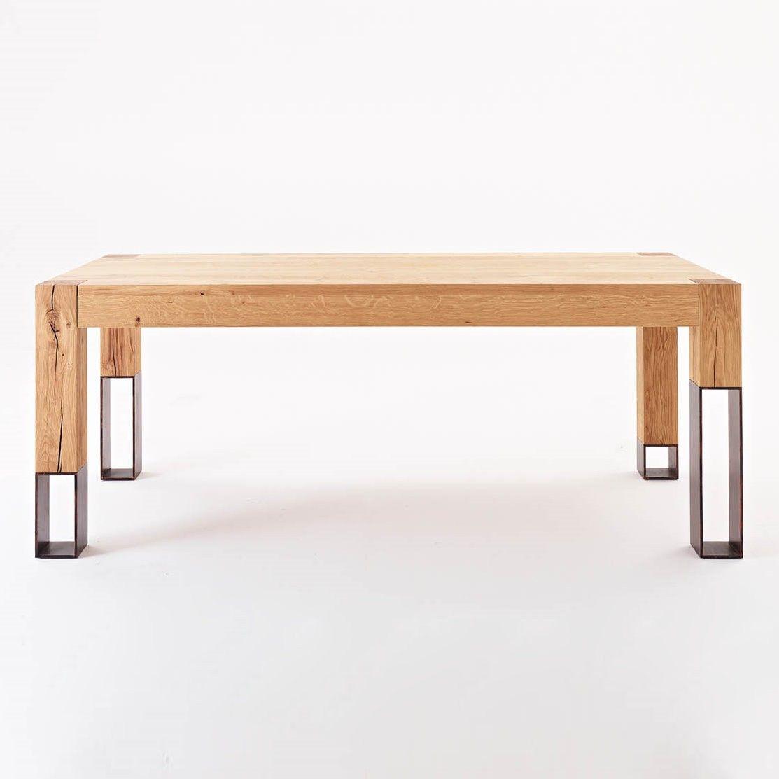 Tavolo Di Design In Legno E Acciaio Acqua Alta Di Colico Design Finitura Metallo Non Disponibile Design Tavolo In Legno Mobili In Acciaio Design Di Mobili