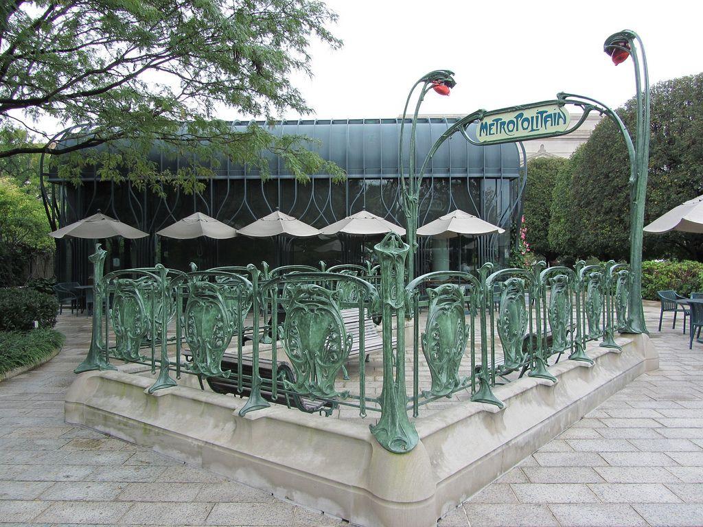 Washington Dc An Entrance To The Paris Metropolitain Is A Sculpture By Hector Guimard Guimard Designed 141 M National Gallery Of Art Sculpture Art Sculpture