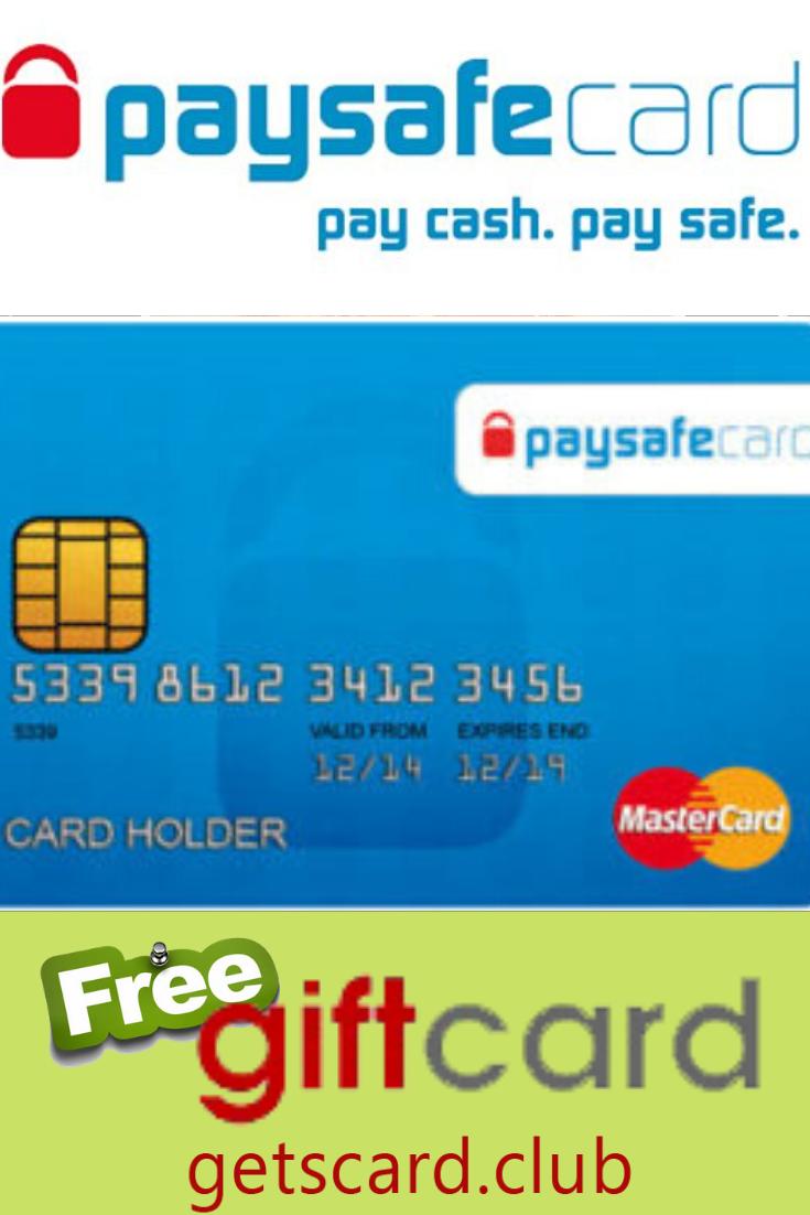 Gratis Paysafe Card