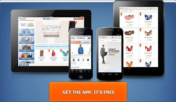 Download The Zappos App And Login Or Register Go To The My Account