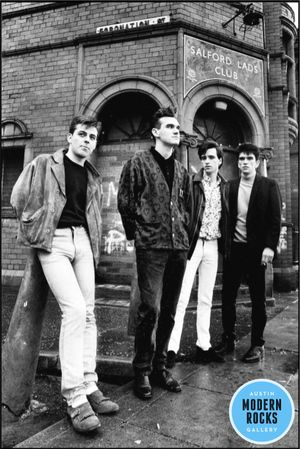 NEW RELEASE - a lovely alternative shot from the Salford Lads Club shoot, added to this US exclusive collection for the first time to commemorate the 30th Anniversary of the release of The Queen Is Dead  - Signed limited edition fine art photographic print of The Smiths by Stephen Wright.