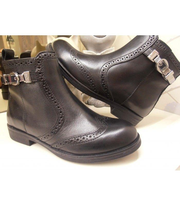Zapatos negros con hebilla infantiles ubxK2