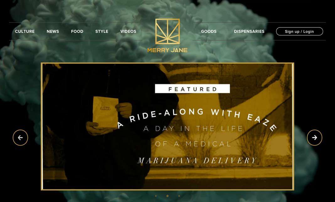 Merry Jane website