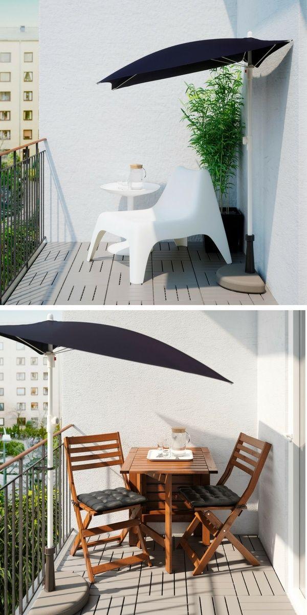 101 id es d co am nagement pour un petit balcon. Black Bedroom Furniture Sets. Home Design Ideas