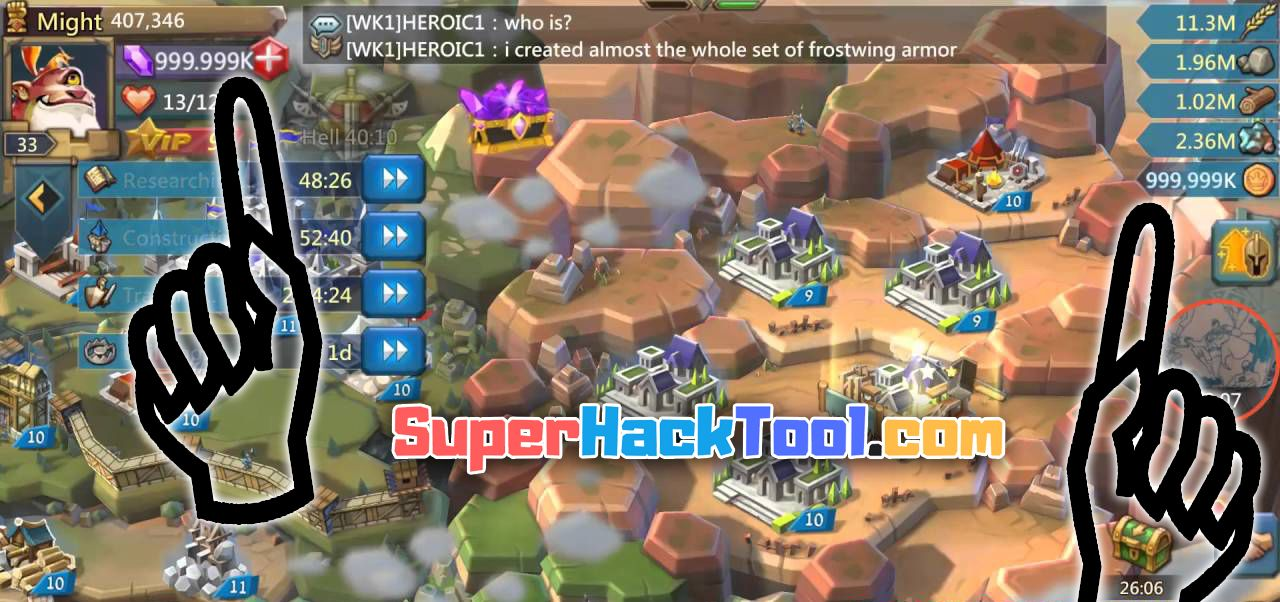 Lords Mobile Mod Apk Unlimited Gems And Money Fasraim
