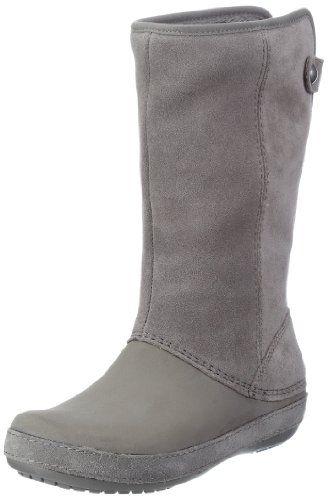 a931594fd8 Crocs Women s Berryessa Suede Boot  53.98