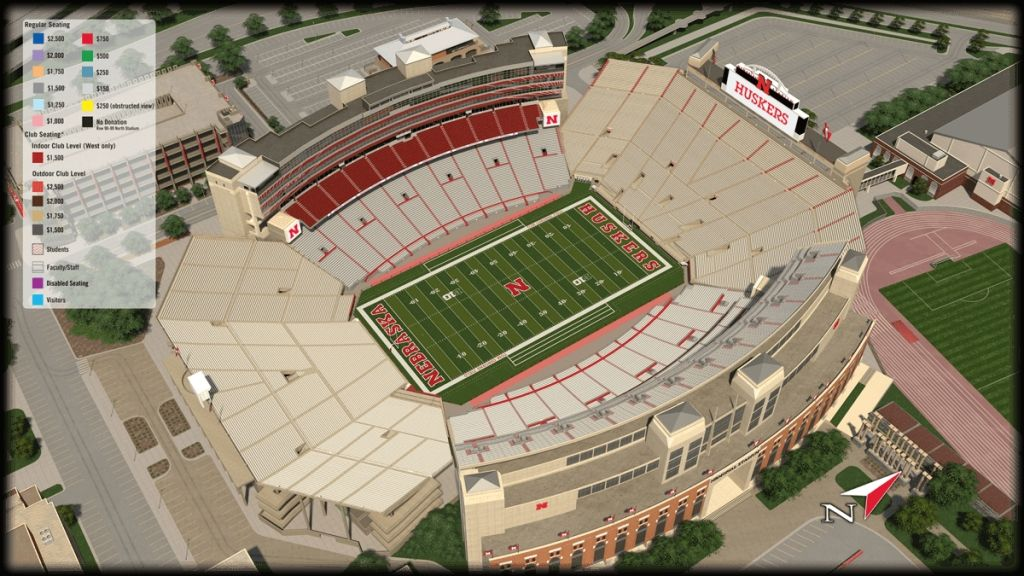 Oklahoma Memorial Stadium Oklahoma Seating Guide Rateyourseats Throughout Stylish And Interesting Memorial Stadium Seating Chart With Rows Gaylordmemorialstad Di 2020