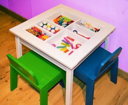 Diy Furniture Diy Arts And Crafts Play Table Diy Furniture
