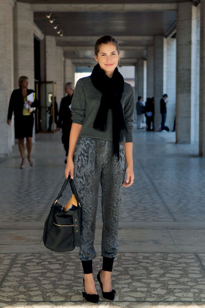 Black & Grey sports luxe and snake print