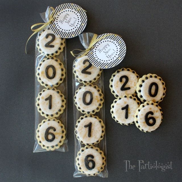 New Year's Cookies!