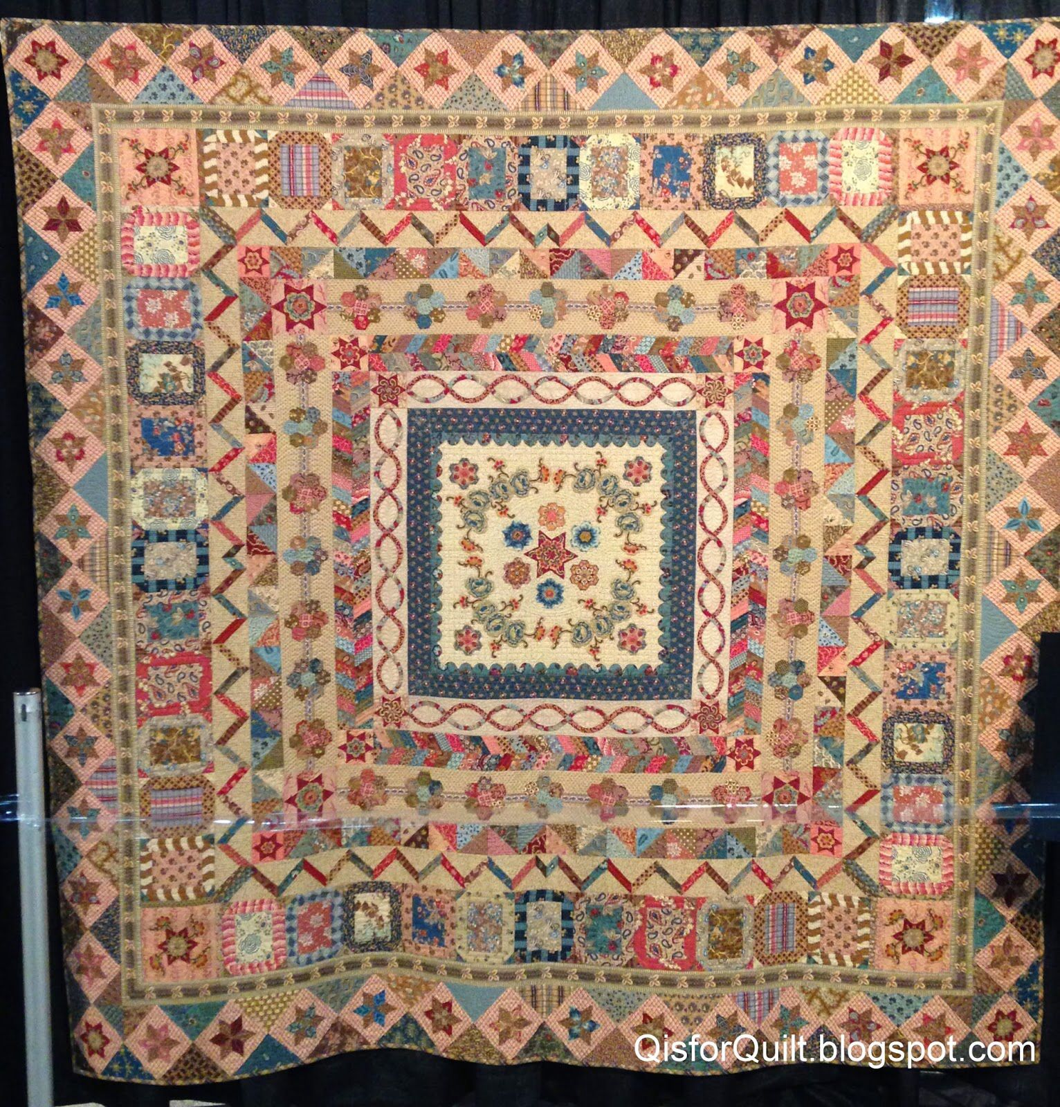 cabbage quilt quilts medallion museum x
