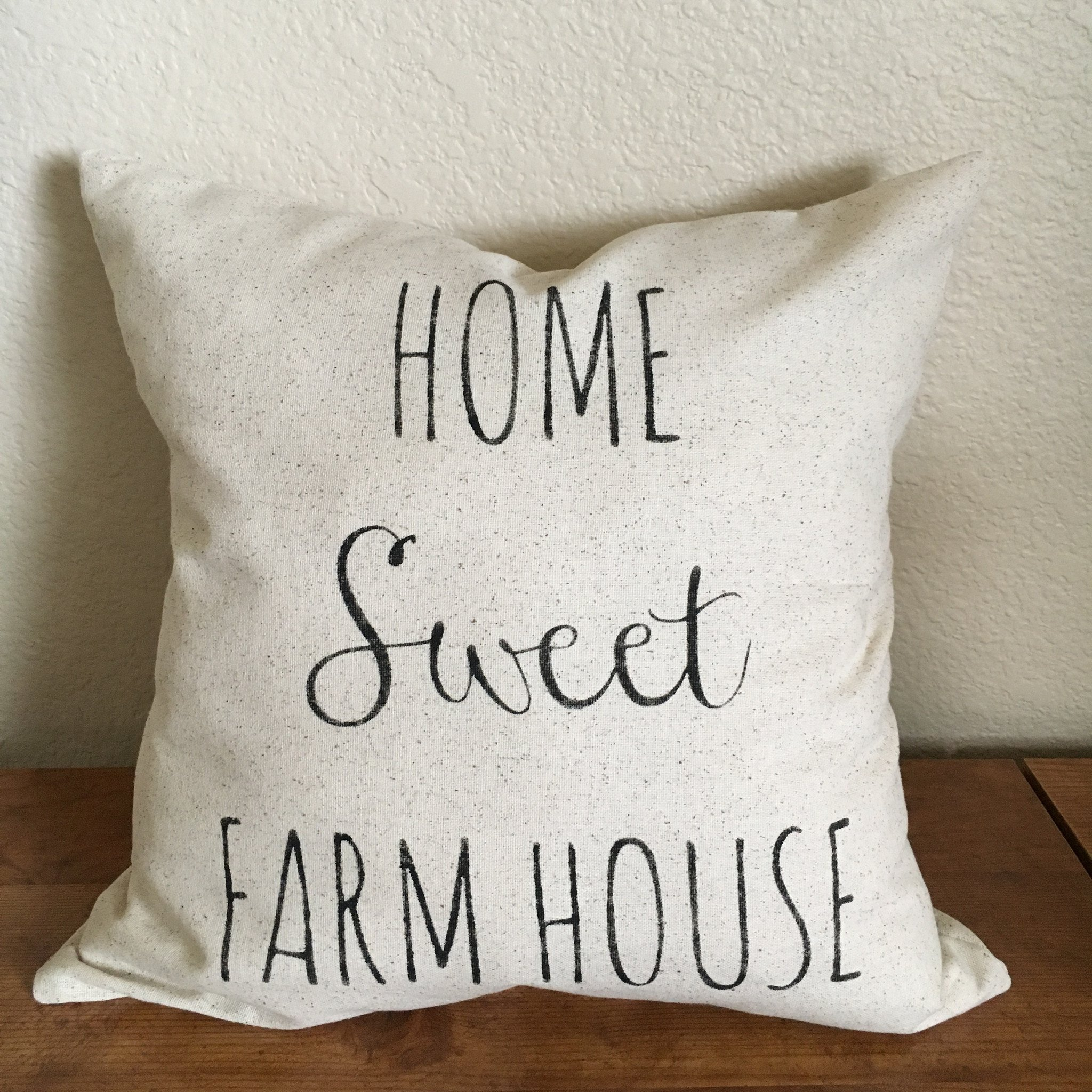 Home Sweet Farm House Farmhouse Pillow Cover Choose