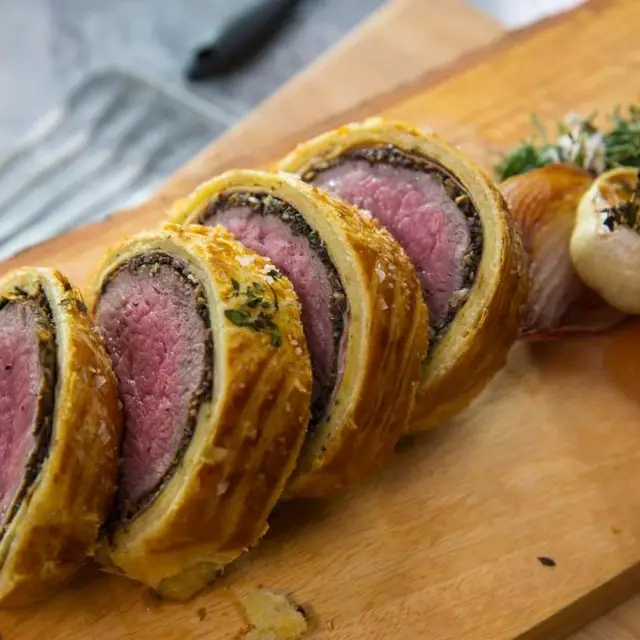 Yummly Personalized Recipe Recommendations And Search Recipe Wellington Food Beef Wellington Gordon Ramsay Beef Wellington