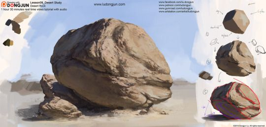 Lesson09 Desert Rock by DongjunLu