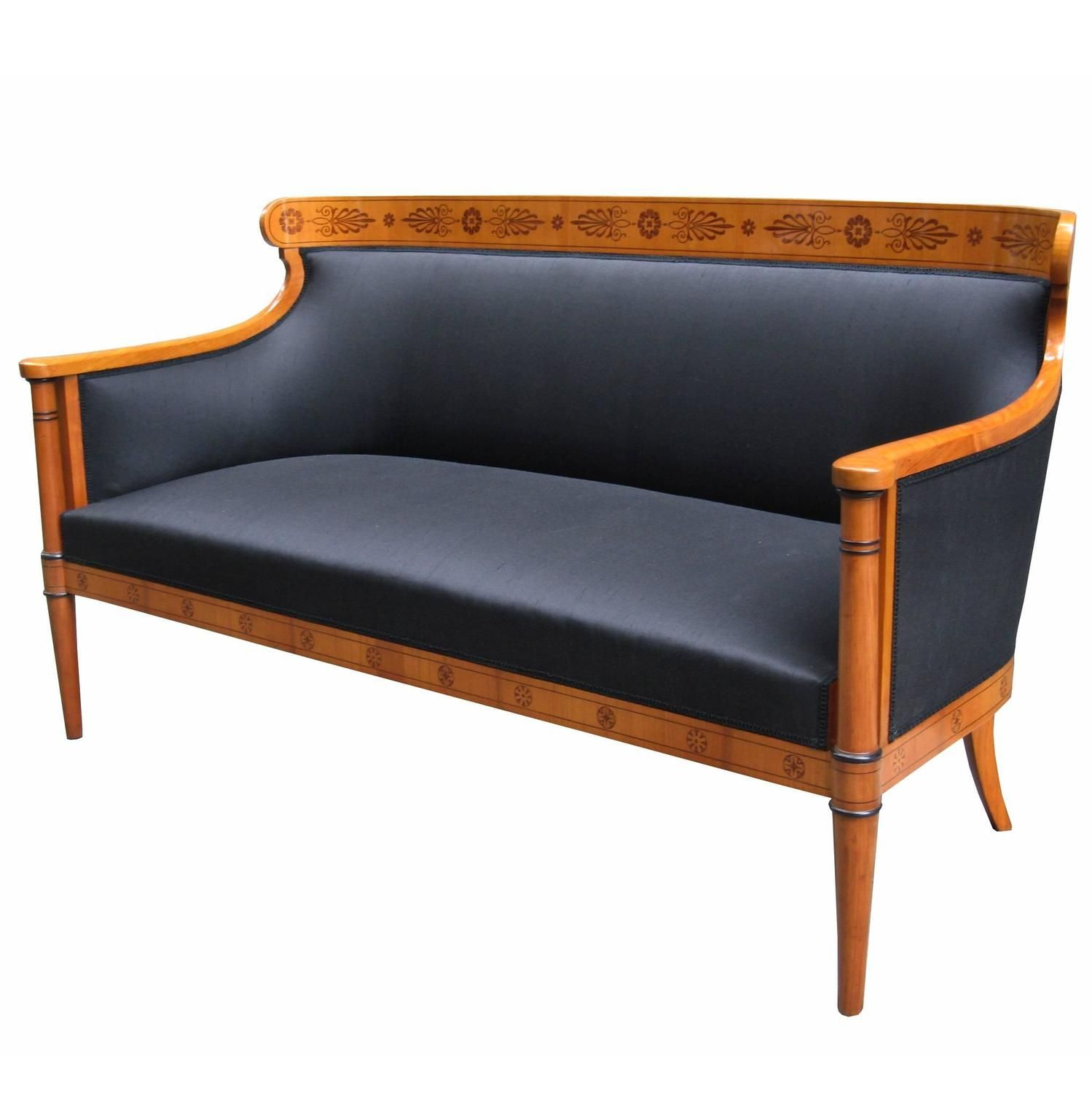Fine Biedermeier Sofa Biedermeier Furniture Vintage Sofa Vintage Couch