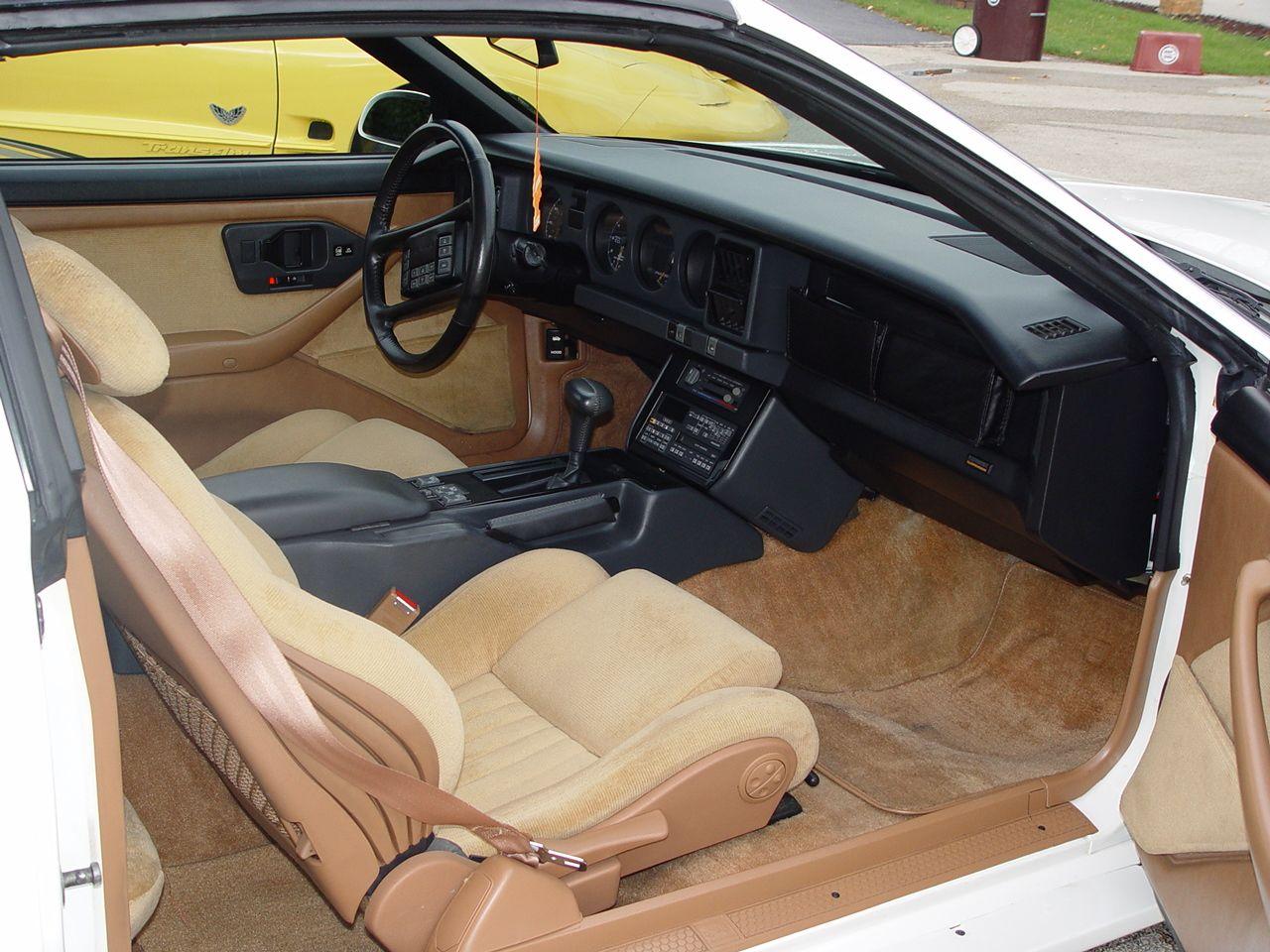 1989 Turbo Trans Am Interior Festival Car 99