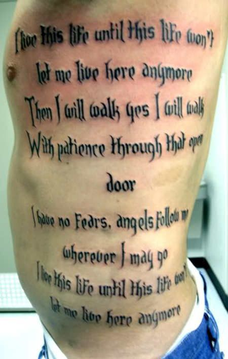 Guys Tattoo 137 Tattoo Quotes Tattoo Quotes About Strength Inspirational Quotes