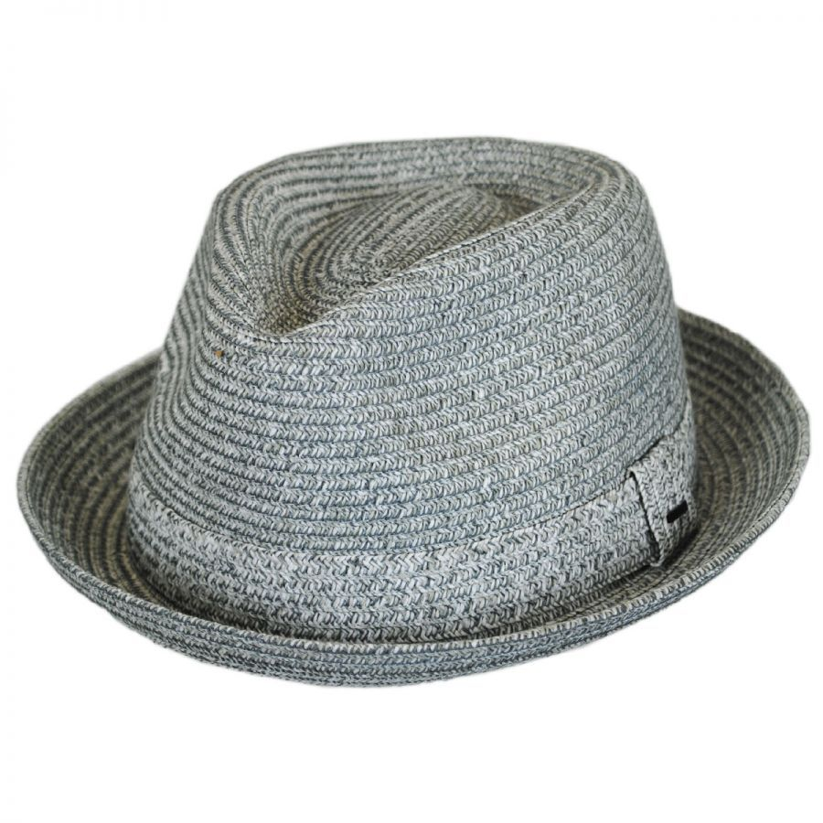 eb4e1169 Billy Toyo Straw Braid Fedora Hat | Hats | Fedora hat, Hats, Braids