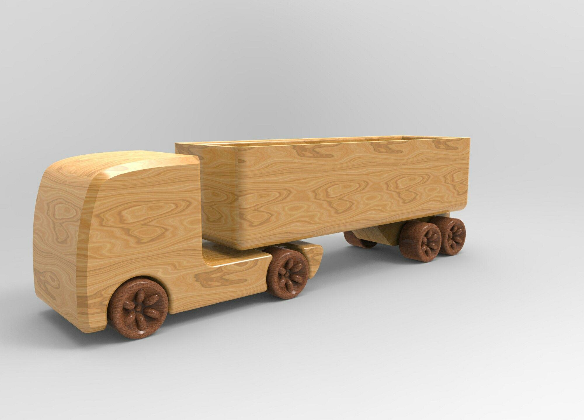 wooden truck toy design / industrial design. | wooden toys