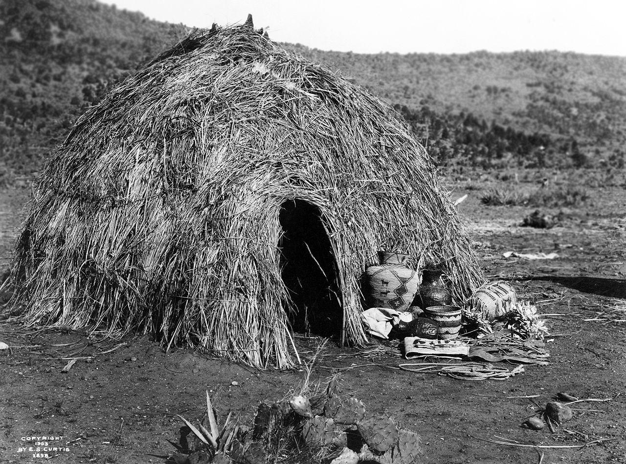 Apache Wickiup (c. 1903)