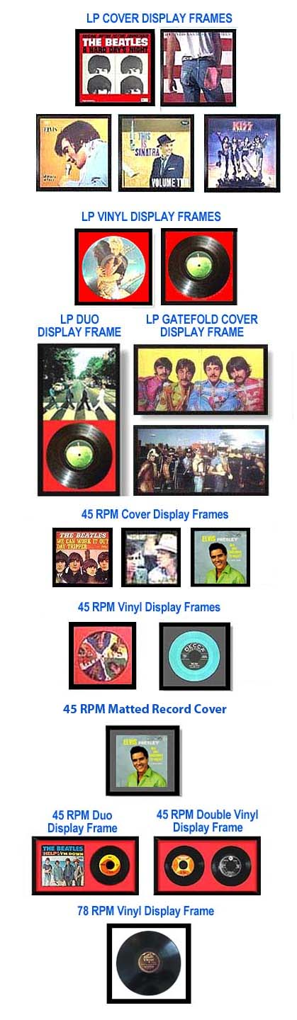 Record Display Frames For Your Lp Albums Record Display Album Frames Display Frames