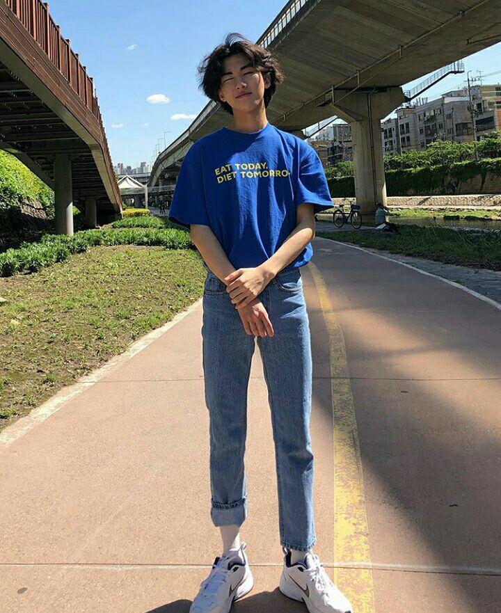 Korean Boys Korean Fashion Men 90s Fashion Men Mens Fashion Streetwear