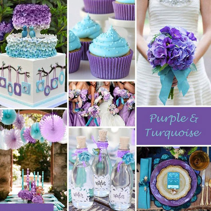 Best Ideas For Purple And Teal Wedding Wedding Colors Purple Turquoise Wedding Wedding Color Combinations