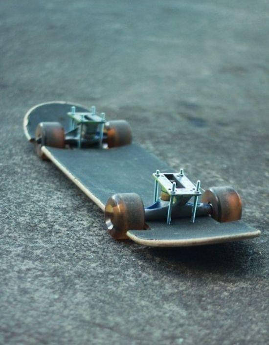 Lowrider skateboard...