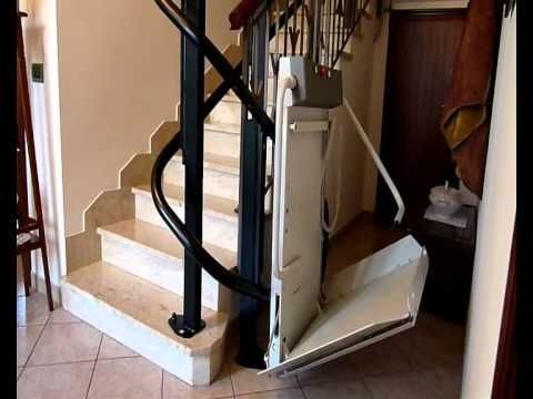 Best Slim Wheelchair Platform Stair Lift Demonstration Stair 400 x 300