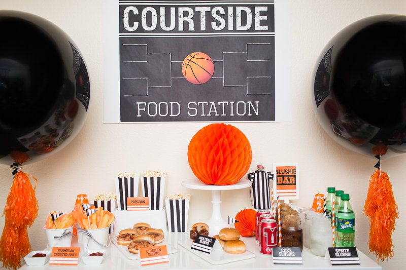 BASKETBALL PARTY IDEAS AND TOURNAMENT WATCH PARTY RECIPES