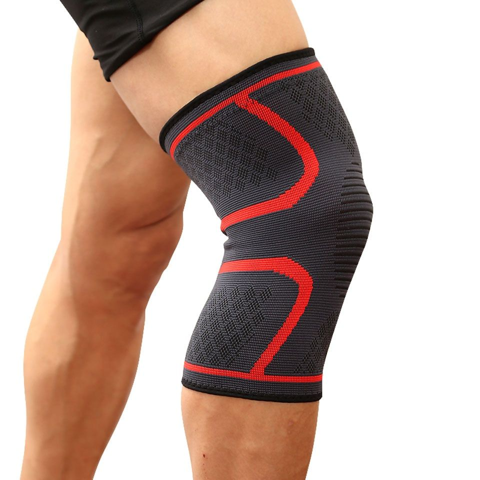 Elastic Knee Protection Sports Support Bandage Knee Compression