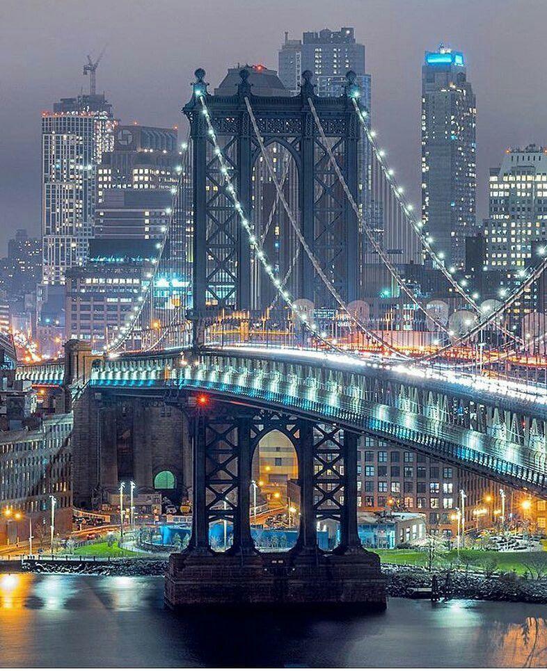 City Manhattan: Manhattan Bridge By Fullmetalphotography